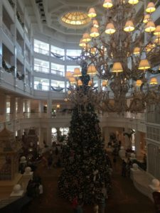A visit to the Grand Floridian Resort