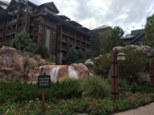 Wilderness lodge.