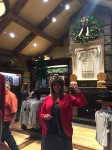 My mom wanted to experience the wildlife at Wilderness lodge!